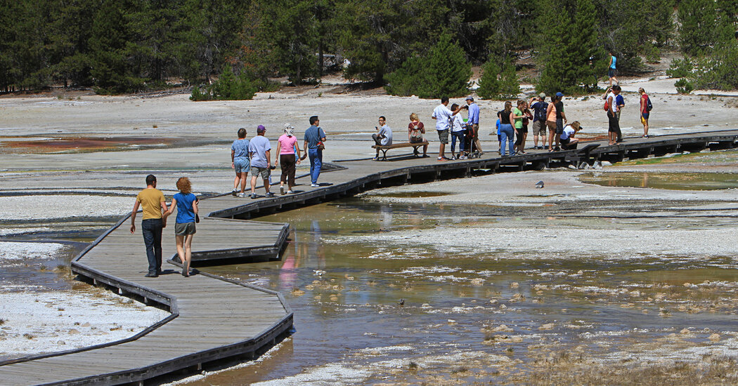 Woman Sentenced to 7 Days in Jail for Walking in Yellowstone's Thermal Area